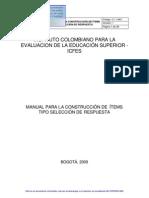 Icfes 2009, Manual Para La Contruccion de Items Tipo Seleccion de Respuesta