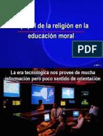 13-El Papel de La Religion en La Educacion Moral