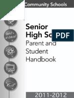ucs senior high handbook 2011-2012
