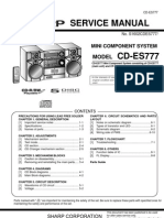 Sharp CD Es777