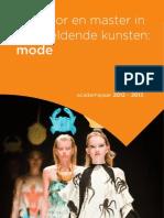 Brochure Moda Antwerp