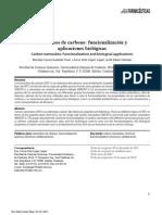 Nanotubos de Carbono-funcionalizacion y Aplicaciones Biologicas