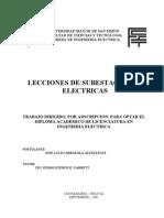 Lecciones de Subestaciones Electricas