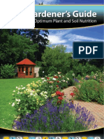 Gardeners Guide for Optimum Plant & Soil Nutrition
