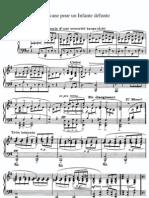 Ravel - Pavane Pour Une Infante d'Funte