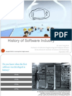 History of Software Industry