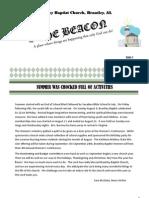 September Newsletter-- The Beacon
