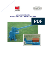 Manual Brick Machine Instructions