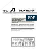 Boss Rc-50 Loop Station Manual User