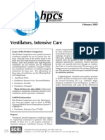 Ventilators, Intensive Care