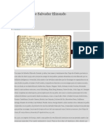 Los Diarios de Salvador Elizondo