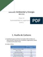 Clase 14. Sustentabilidad y Organizaciones (Cont.)