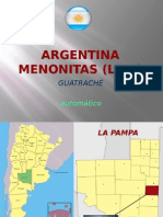 Argentina Menonitas La Pampa Milespowerpoints.com
