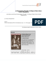 1.9999 - Serequeberhan, Tsenay - Karl Marx and African Emancipatory Thought. a Critique of Marx's Euro-Centric Metaphysics (en)