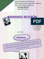 Expo Armando Reveron