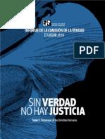 Sin Verdad No Hay Justicia - Informe de la Comisiópn de la Verdad Ecuador 2010 - Tomo 1