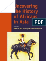 Uncovering the History of Africans in Asia