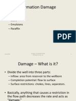 Formation Damage Examples