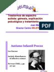TEA, génesis, explicación y tratamiento Juan Martos