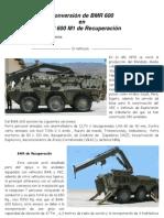 BMR 600 M1 Grua