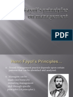 Henry feyol's principles on management