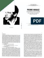 143095395 Boulez Le Marteau Sans Maitre Full Score