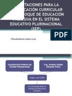 Planificación con Educación Inclusiva