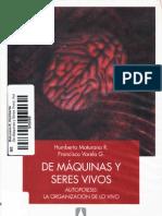 De Maquinas y Seres Vivos - Humberto