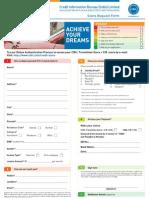 CIBIL Request Form