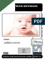Pediatrics Revision