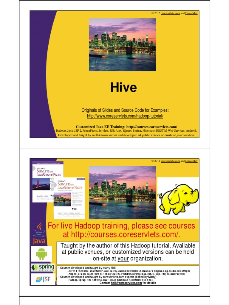 07 hive 01pdf apache hadoop software design baditri Image collections