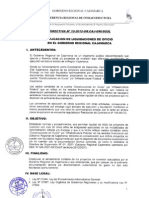 DIRECTIVA Nº 10-2012-GR.CAJ-GRI.SGSL_ liquidacion oficio