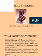 Critical Thinking[1]