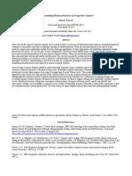 Understanding Hydrocarbons in an Evaporite Context