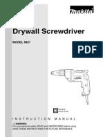 Makita Drywall Screwdriver Model