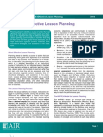 8 TEAL Lesson Planning