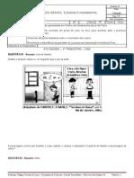 ATIVIDADES 8ºSÉRIE - 2º TRIMESTRE - CIÊNCIAS - PROF. WAGNER