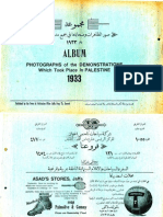 مجموعة صور المظاهرات وضحاياها في جميع مدن فلسطين عام 1933  Album of Photographs of the Demonstrations Which Took Place in Palestine 1933