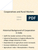 Cooperatives and Rural Markets