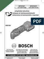 Bosch Multi-X Oscillating Tool