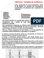 Orifício_Vertedor