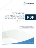 WDM-PON Available Alternative for Next Generation Ftth