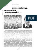 """Adam Borowski, Tadeusz Ruzikowski – Klęska Służby Bezpieczeństwa, zwycięstwo """"Solidarności"""""""