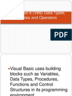 Visual Basic 6 (VB6) Data Types