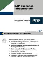 SAP Exchange Infrastructure- Integration Directory