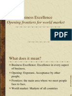 Business Excellence Lecture