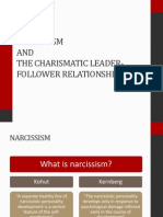 Narcissism and the Charismatic Leader-follower Relationship