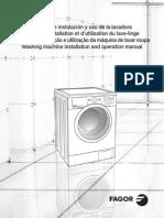 Fagor washing machines user manual