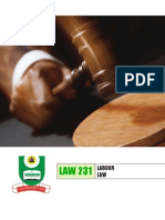 INDUSTRIAL LAW IN NIGERIA