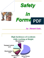 Safety in Formwork